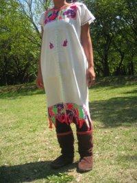民族刺繍ワンピース