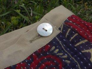 画像5: ラリーキルト ラップスカート リバーシブル 刺し子