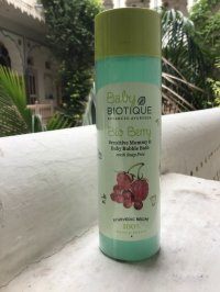 Biotique ビオティーク ベビーバブルバス sensitive mammy and baby bubble bath