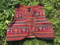 (2)ボリビアアワイヨ ショートベスト handmade
