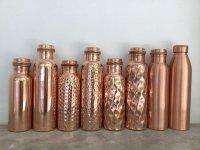 気軽に アーユルヴェーダ 銅ボトル 銅水入れ 3種類2サイズ 抗菌 抗ウィルス copper
